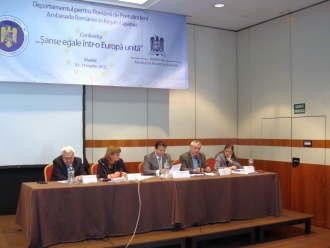 "Conferinta DPRP cu ""peripetii"" la Madrid despre problemele diasporei"