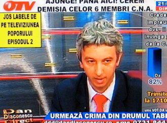 OTV-ul pierde jumatate din licenta de emisie