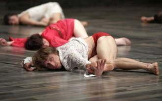 Miscarea Indignatilor pe scena Operei din Madrid