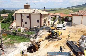 Roman ucis de surparea unui sant in Navarra