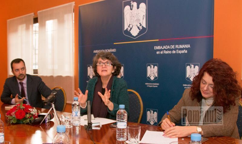 Apucături comuniste la Ambasada României din Madrid