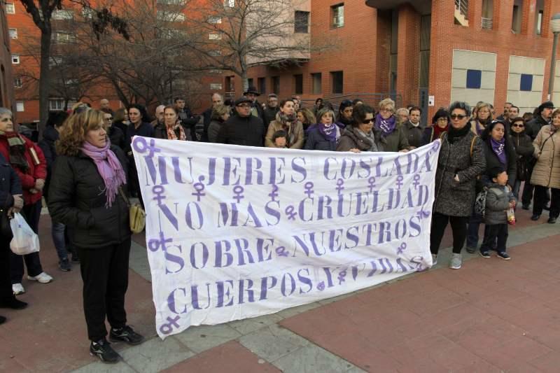 Manifestație la Coslada după moartea unei românce