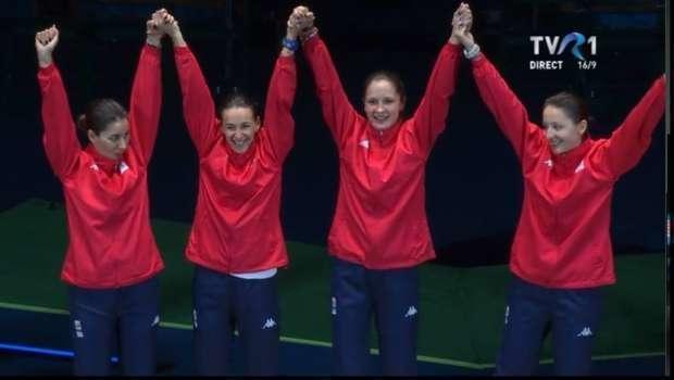 România a dat lecții de spadă la Rio