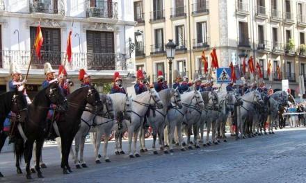 Ambasadoarea României dusă cu trăsura la Palatul Regal