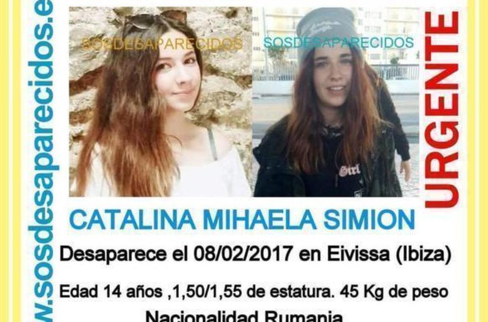 Româncă minoră dispărută în Ibiza