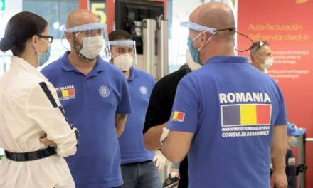 Români transportați în țară cu Tarom