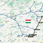 10 puncte pentru trecerea graniței dintre Ungaria și România
