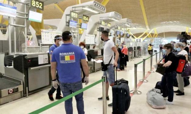 Două zboruri Tarom au plecat de la Madrid și Barcelona