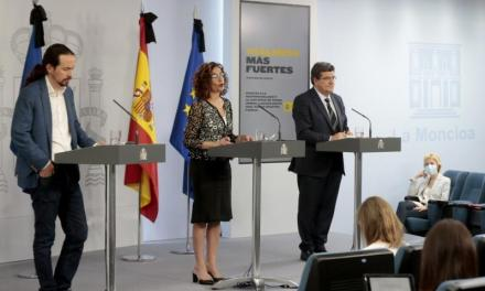 Guvernul Spaniei aprobă venitul minim garantat