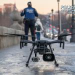 Carantină controlată cu drona la Madrid
