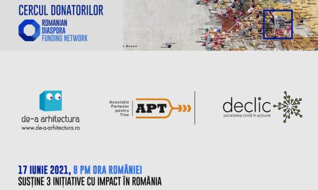 Cercului Donatorilor organizează o nouă strângere de fonduri pentru proiecte în România