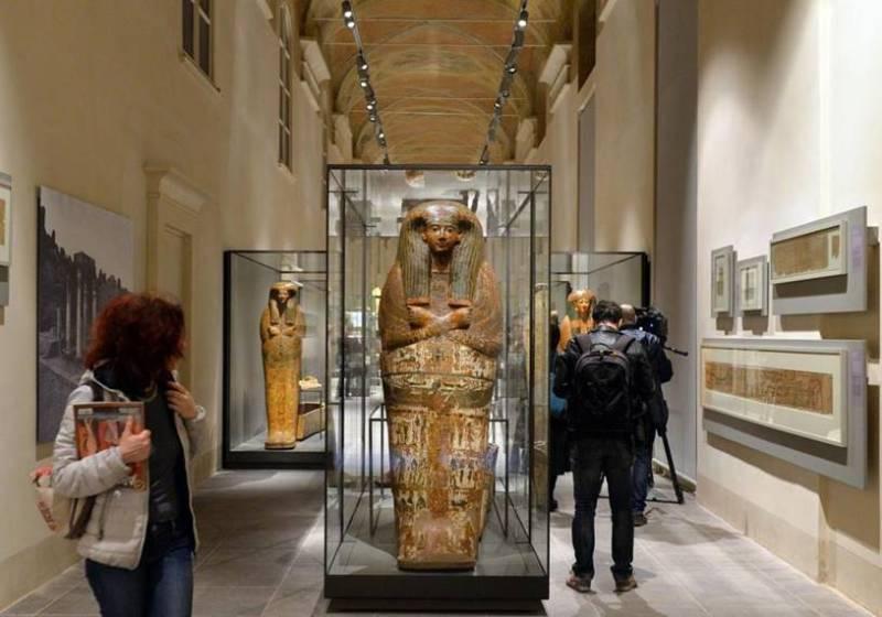 O Museu EgIpcio De Turim