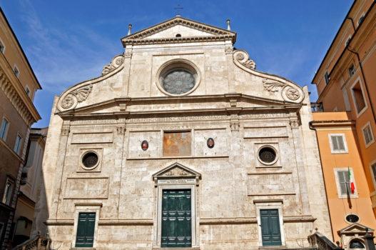Igreja de santo Agostinho em Roma