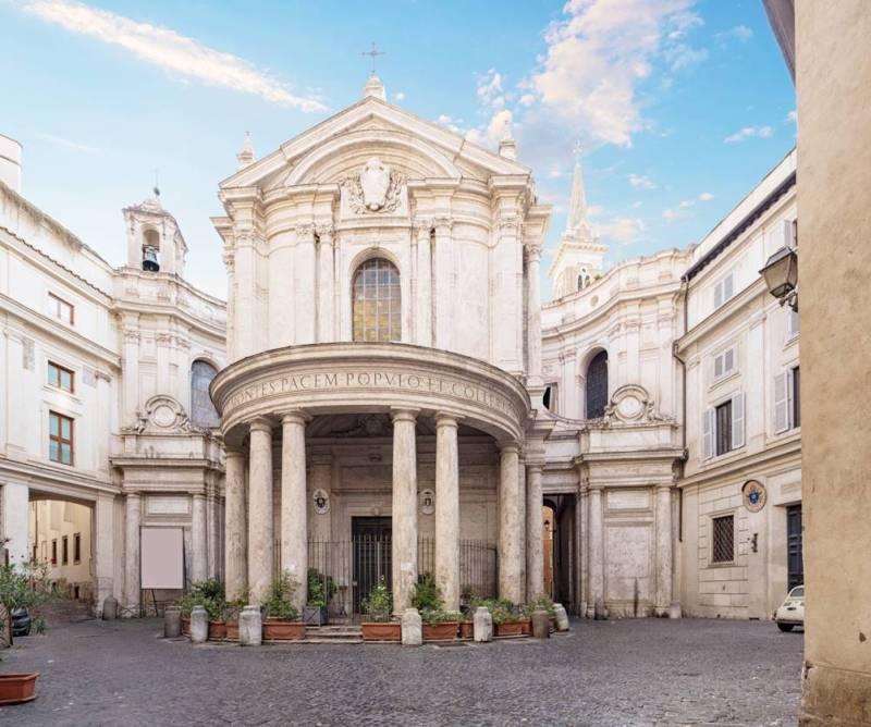 Igreja de Santa Maria da Paz em Roma