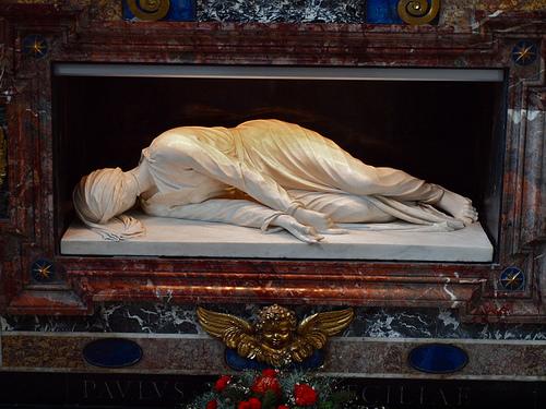 Santa Cecília, obra de Stefano Maderno