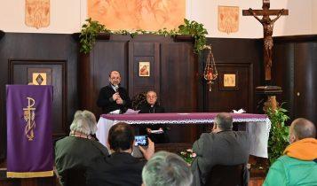 Benoni Ambarus vescovo ausiliare di Roma, De Donatis, Casa Santa Giacinta, 20 marzo 2021