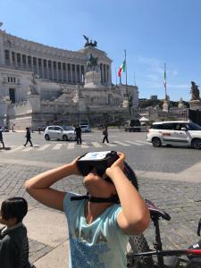 Tour in Bici Roma con occhiali 3D per Realtà Virtuale