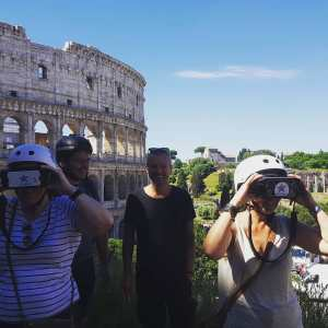 Rome Bike Tour in June