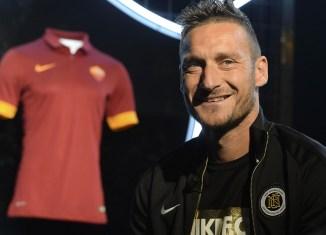 L'ultima partita di Totti con la Roma