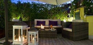 Hotel con giardino a Roma