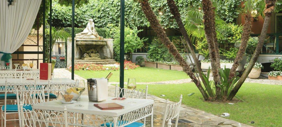 Hotel di Roma con giardino