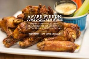 Romby's Tavern and Smokehouse - Award Winning Jumbo Chicken Wings
