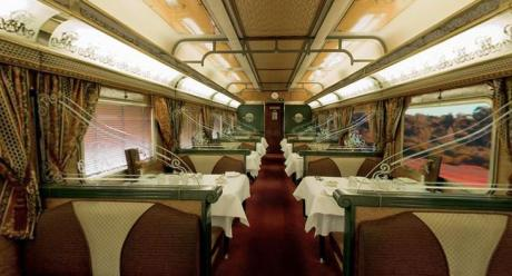 the ghan train australia restaurant