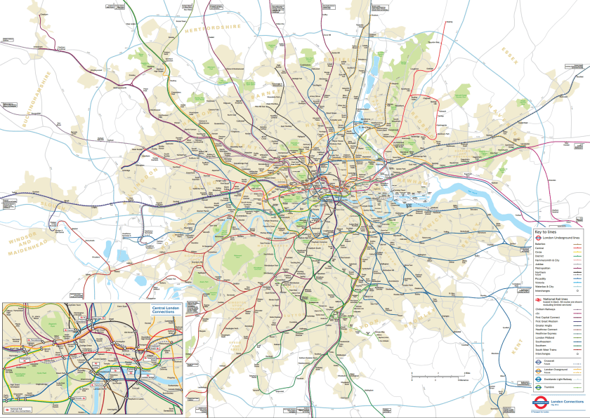 london real map