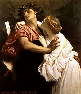 Orpheus and Eurydice by Frederic Leighton
