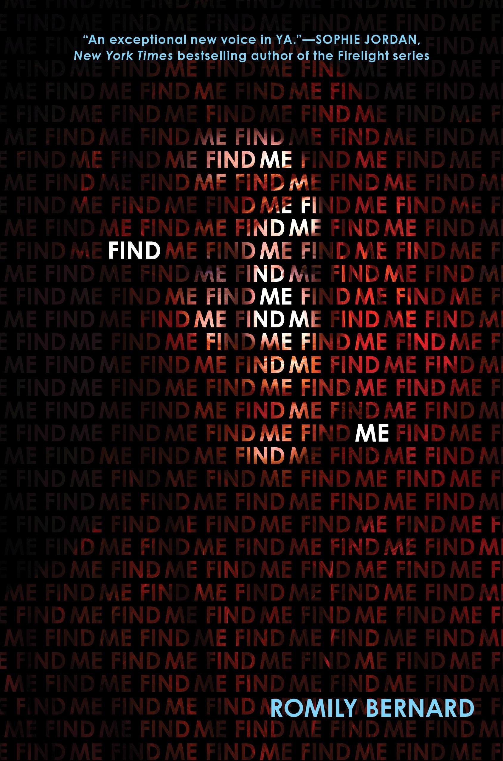 Find Me (Find Me #1)