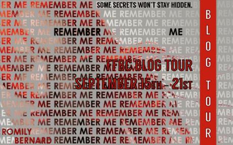 remember me blog tour