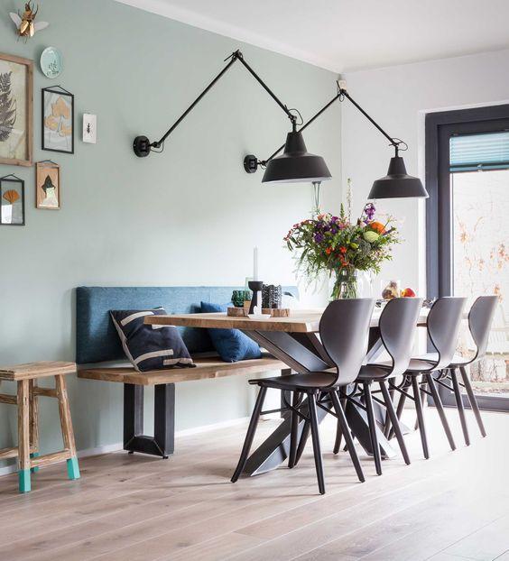 Goditi il tuo pranzo e la comoditá delle nostre sedie della sala da pranzo. Come Illuminare Il Tavolo Da Pranzo 10 Idee Per Dare Cenare Piacevolmente In Casa Propria Romina Home Lover