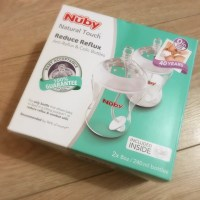 Nuby Natural Touch Anti Reflux Bottles - Review