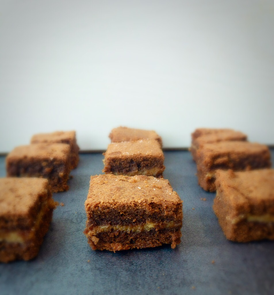 Image of salted caramel brownies