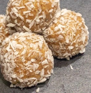 Penaut Butter and Coconut Bliss Balls