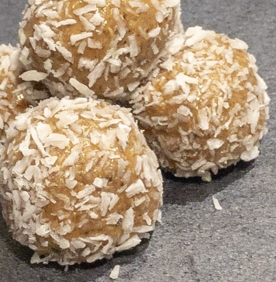 Peanut Butter and Coconut Bliss Balls