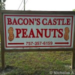 bacon's castle peanuts virginia romiyo