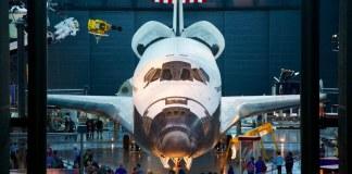 udvar hazy space shuttle discovery romiyo