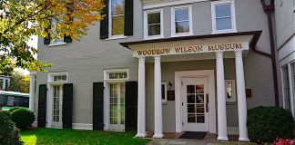 Woodrow Wilson Presidential museum, staunton