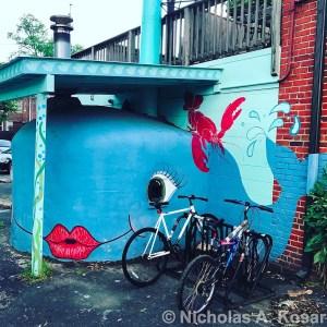 carytown graffiti whale art