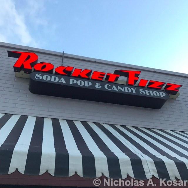 rocket fizz carytown soda pop candy