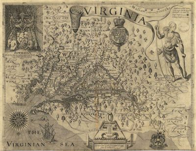 captain john smith tangier island map