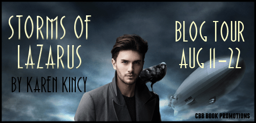 Blog Tour Review Stop + Giveaway // Storms of Lazarus by Karen Kincy