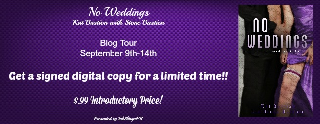Blog Tour + Review + Giveaway // No Weddings by Kat & Stone Bastion
