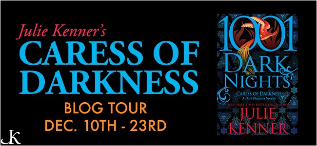 Blog Tour + Review + Giveaway // Caress of Darkness by Julie Kenner