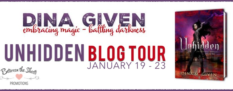 Blog Tour + Review + Giveaway // Unhidden by Dina Given