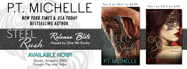 Release Blitz + Giveaway | Steel Rush by P.T. Michelle