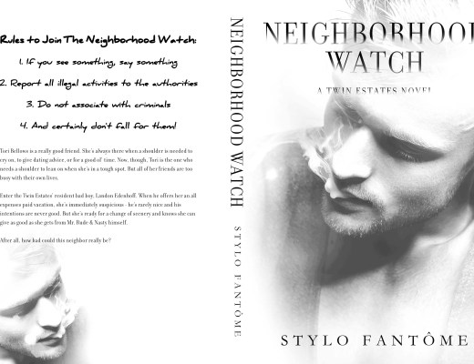 Cover Reveal | Neighborhood Watch by Stylo Fantome