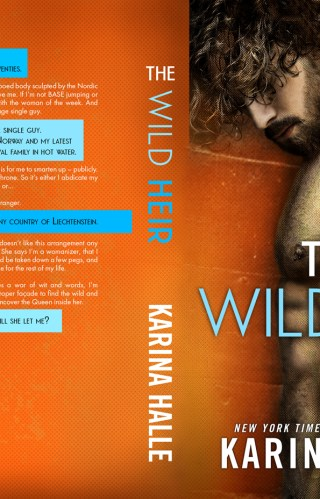 Cover Reveal   The Wild Heir by Karina Halle