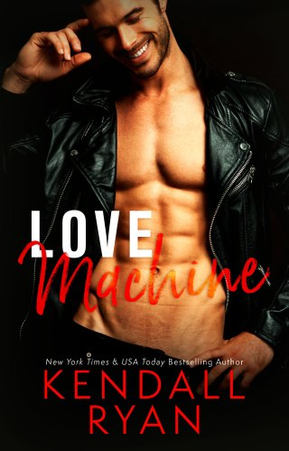 Cover Reveal   Love Machine by Kendall Ryan